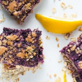 Blueberry and Lemon Pie Bars