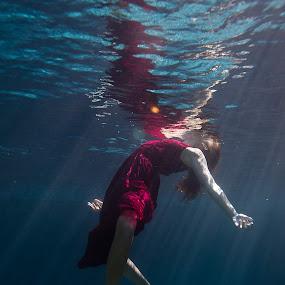 by Tanya Malott - People Fine Art ( underwater, fine art, people )