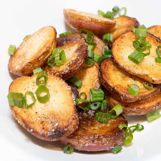 Easy Stove Top Roasted Potatoes.