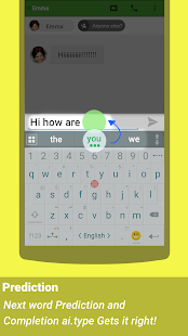 ai.type keyboard Free + Emoji- screenshot thumbnail