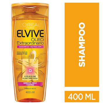 Shampoo L'Oréal Elvive Óleo Extraordinario
