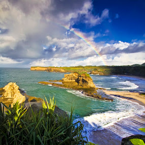 Klayar beach, Pacitan - East Java, Indonesia by Franciscus Triana - Landscapes Travel ( pacitan, klayar )