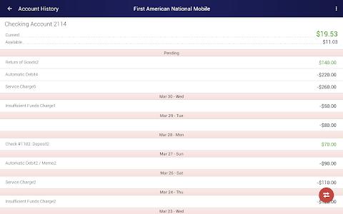 First American National Mobile screenshot 6