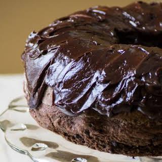 Triple Chocolate Sourdough Banana Bundt Cake.