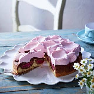 Layered Rhubarb Cake.