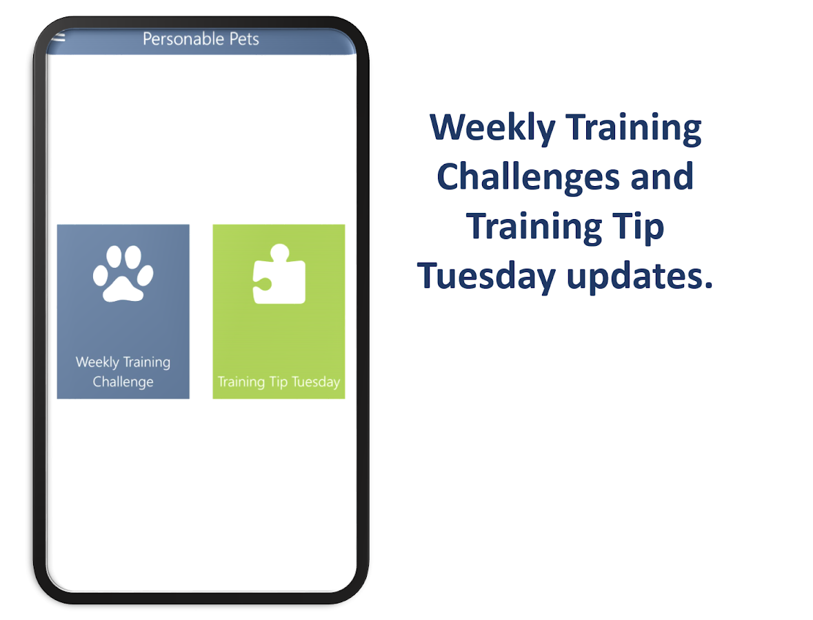 Personable Pets  Dog Training- screenshot