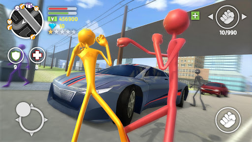 Grand Stickman Auto V 1.08 screenshots 8