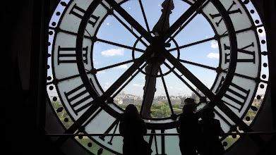 Photo: Orsay Museum clock