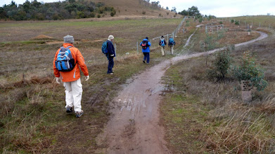 Photo: Bit muddy folks on a cold max 9 degree day