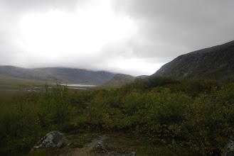 Kuva: aamulla matka jatkui kohti Jollanoaivia Kutturakurun alapuolelta ja sieltä kohti Terbmistä