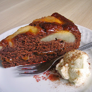 Chocolate Pear Cake – Authentic German