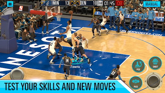NBA 2K Mod Apk Mobile Basketball Download Latest Version For Android 3
