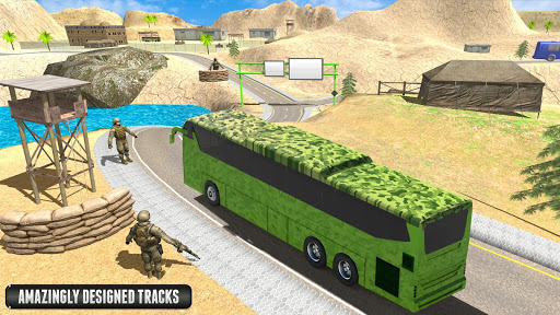 Army Bus Driver – US Military Coach Simulator 3D ss3