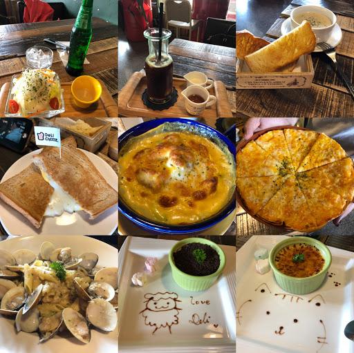 最近頗lucky!一直有新大陸的發現.......😊😊😊  今天所有的餐點都很美味!  首推:蒜醬蛤蜊麵.........👍👍👍  若硬是要吹毛求疵的話........美式咖啡☕️味道較偏