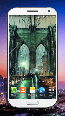 Rainy New York Live Wallpaper - screenshot