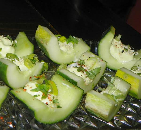Wasabi-mayo Cucumber Cups Recipe