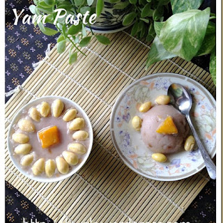 Yam Paste With Gingko Nuts (Orh Nee 银杏芋泥)