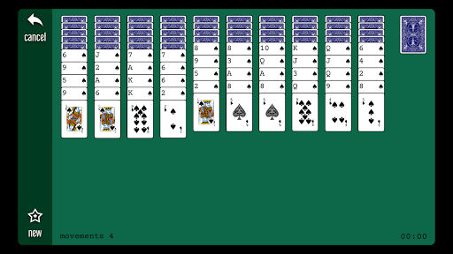 Spider (king of all solitaire games) android2mod screenshots 4