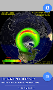 Northern Eye Aurora Forecast screenshot 1