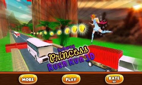 Subway Princess Bus Rush Run screenshot 4