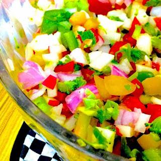 Green Apple, Radish & Pepper Salad