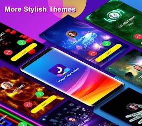 Phone Color Screen - Colorful Call Flash Themes APK screenshot thumbnail 1