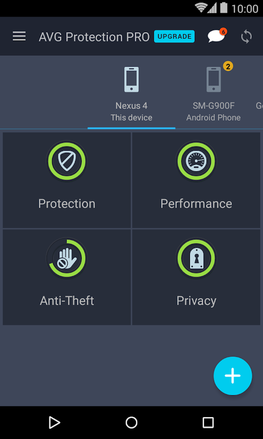 AVG Protection for Xperia™- screenshot