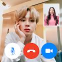 BTS JIMIN - fake chat - video call prank icon