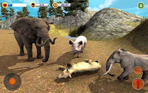 The Lion Simulator - Animal Family Simulator Game apktreat screenshots 2