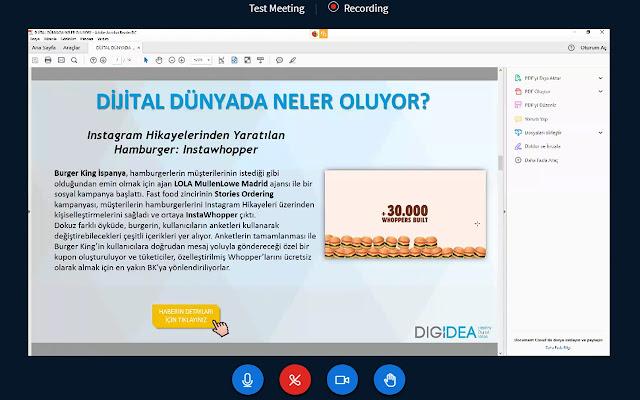 DigiMeet Screenshare Extension