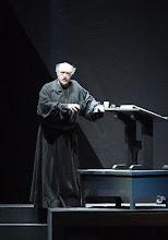 Photo: BORIS GODUNOW / Wiener Staatsoper (2016). Kurt Rydl (Pimen). Copyright: Wiener Staatsoper/ Michael Pöhn