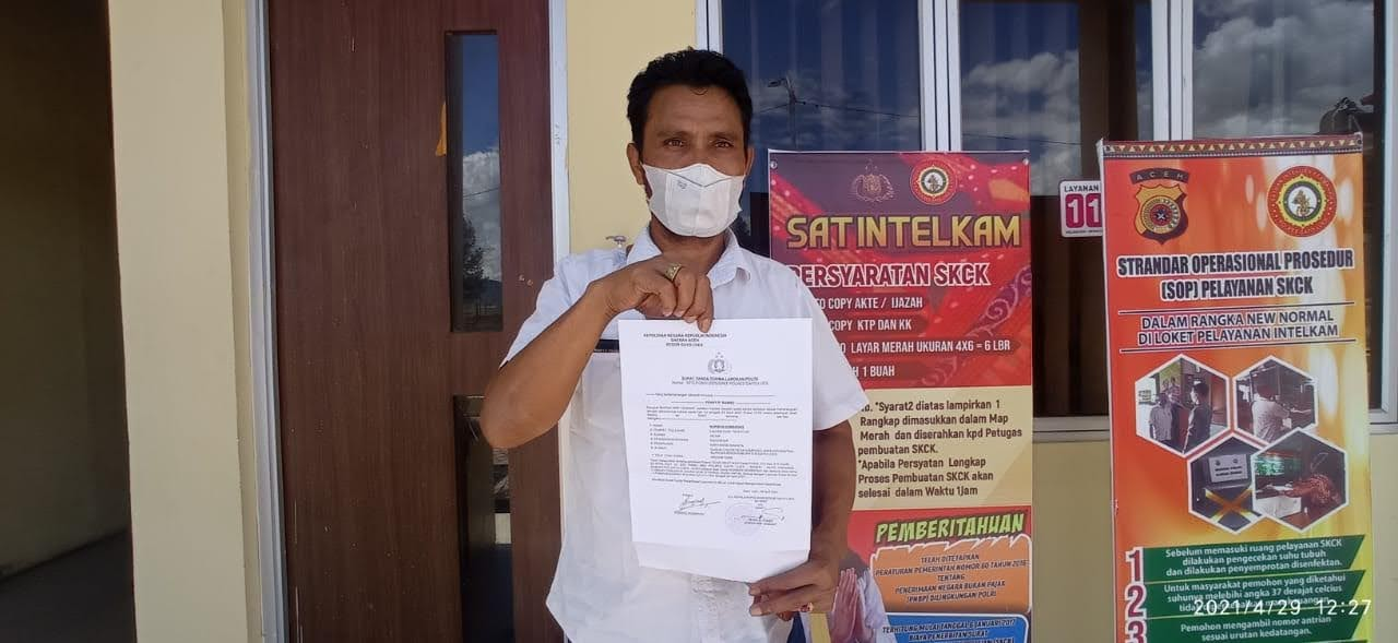 Norman Sembiring Resmi Laporkan Pencemaran Nama Baik Atas Tuduhan Terima Uang 270 Juta