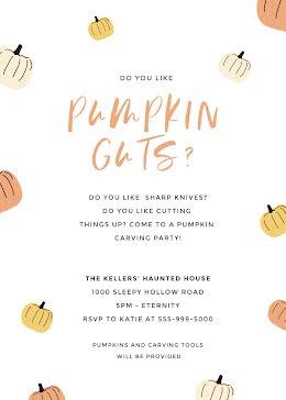 Pumpkin Guts - Halloween item