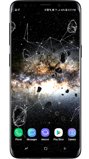 Space Particles 3D Live Wallpaper  screenshots 9