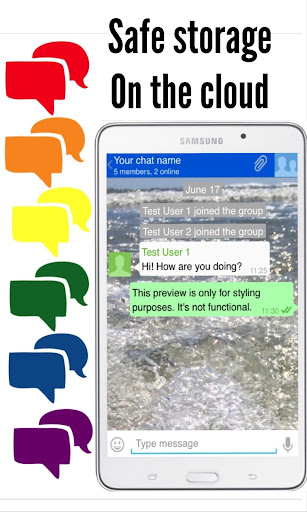 Texting App screenshot 2