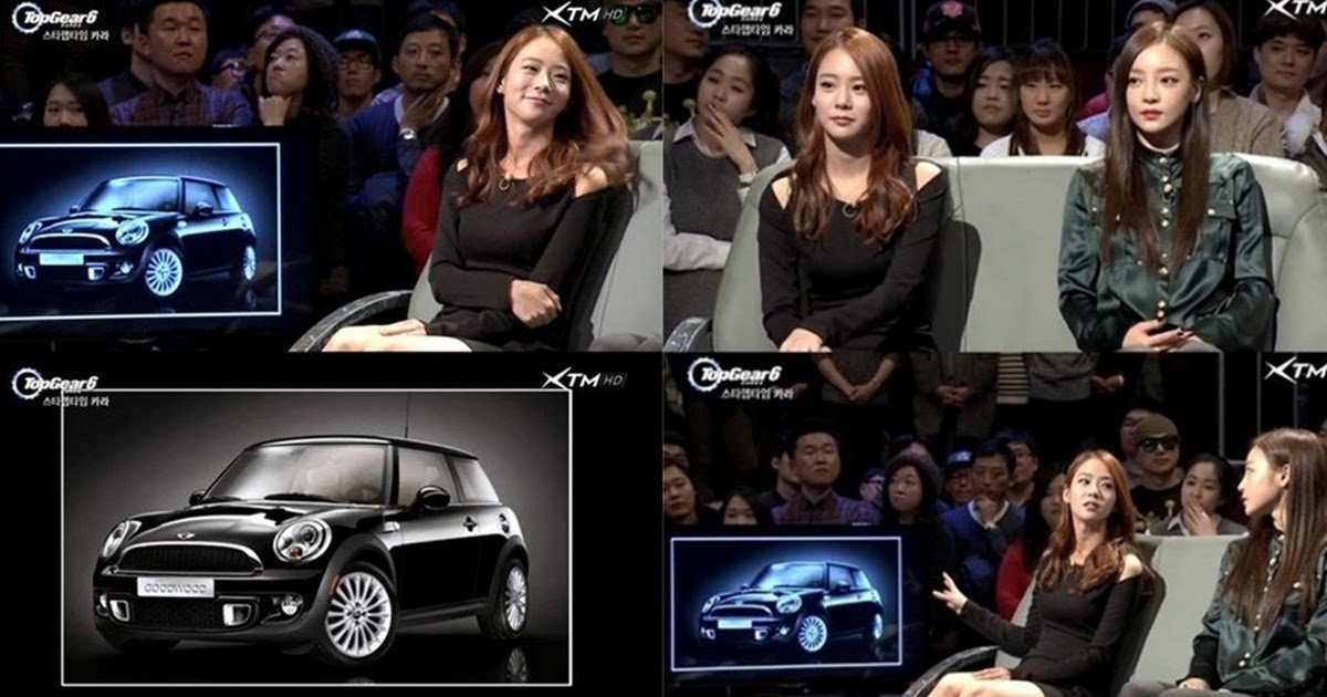 Han Seungyeon Show Off Her Limited Edition Luxurious Car On Top