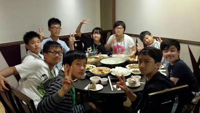 Photo: Dinner (Apr 19)