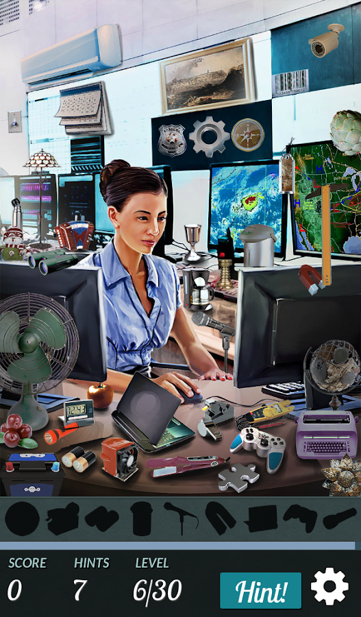 Hidden Object - I Love My Job- screenshot