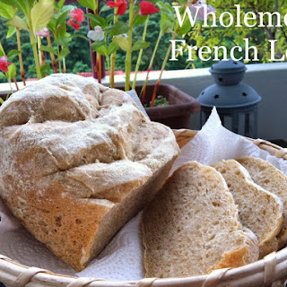 Baking Taitai's Breadmaker Wholemeal French Loaf 全麦法式面包.