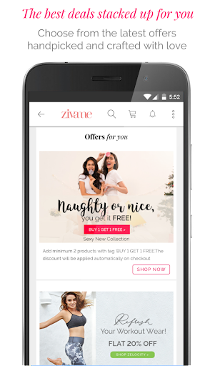 Zivame - Shop Lingerie, Activewear, Apparel Online 3.1.1 screenshots 5