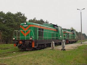 Photo: SM42-119 & SM42-984 {Toruń Północny; 2004-04-22}