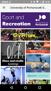 University of Portsmouth Sport - náhled