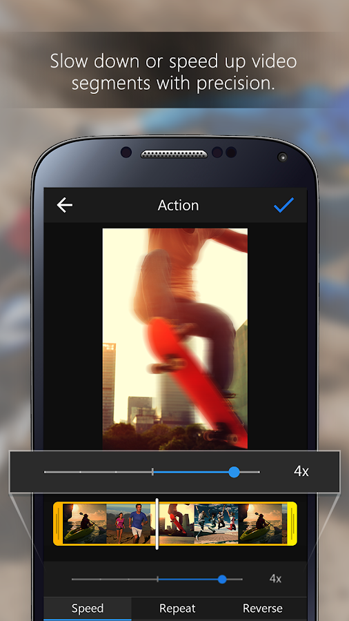 ActionDirector Video Editor- screenshot