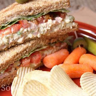 Southern Ham and Egg Salad