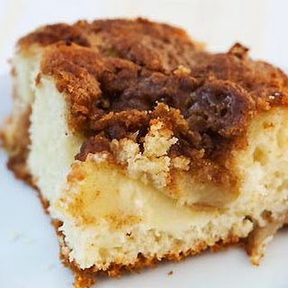 Apple Coffee Cake in the Crock Pot.