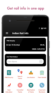 Indian Railway PNR Status & IRCTC Train EnquiryApk Download For Android 1