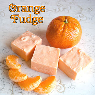 Easy Orange Microwave Fudge