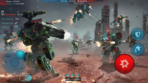 Robot Warfare: Mech Battle 3D PvP FPS apktram screenshots 20