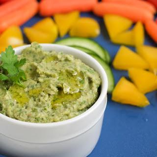 Green Hummus.