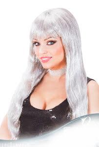 Peruk Glamour, silver